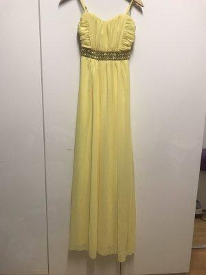 Vestido de baile amarillo