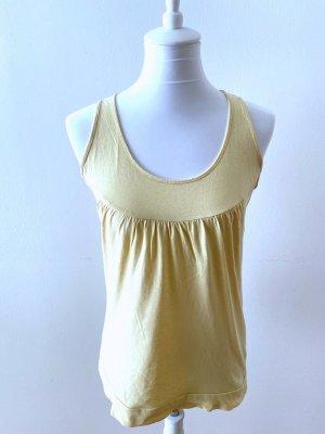 Anne L. Off-The-Shoulder Top primrose-pale yellow