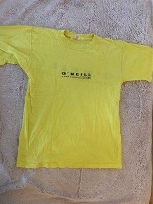 Gelbes O'Neill T-Shirt Größe M