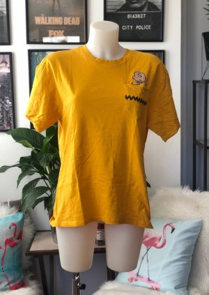 Peanuts T-shirt jaune-orange clair