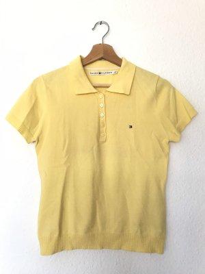 Gelbes Polo-Shirt von Tommy Hilfiger, Größe M