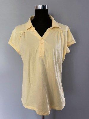 C&A T-Shirt pale yellow-primrose cotton