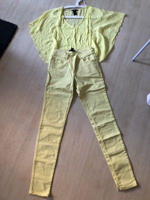 Gelbes Set! Hose und Top kaum getragen