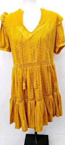 Gelbes Sommerkleid/ Mango/ Größe M