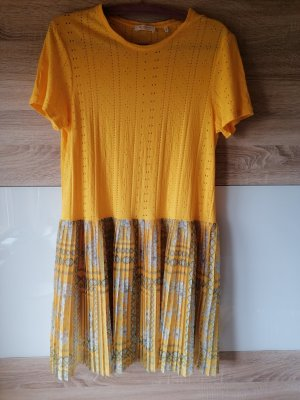 Rich & Royal Shortsleeve Dress yellow