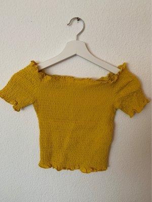 Gelbes sommerliches Top