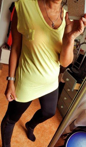 Gelbes Sportshirt von Nike Gr M Viscose