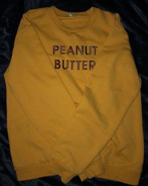Rad. Sweatshirt goud Oranje