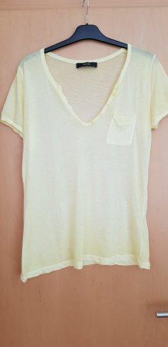 Gelbes T- Shirt von Hallhuber
