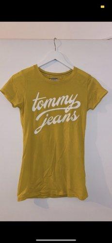 gelbes Tshirt Tommy Hilfiger