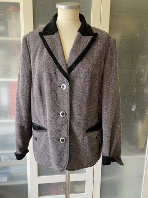 Gelco Blazer en laine noir-gris