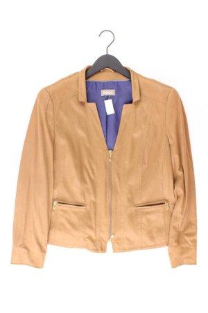 Gelco Jacke Größe 42 braun aus Polyester