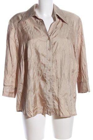 Gelco Langarm-Bluse creme Casual-Look