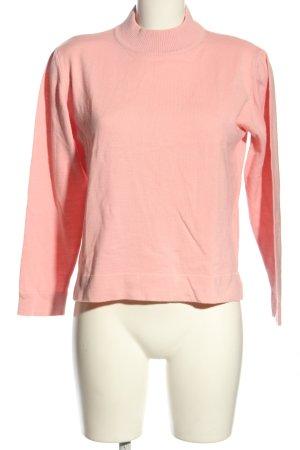Gelco Rundhalspullover pink Casual-Look