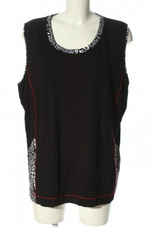 Gelco Schlupf-Bluse abstraktes Muster Casual-Look