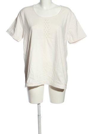 Gelco T-Shirt weiß Casual-Look