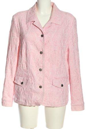 Gelco Übergangsjacke pink Allover-Druck Casual-Look