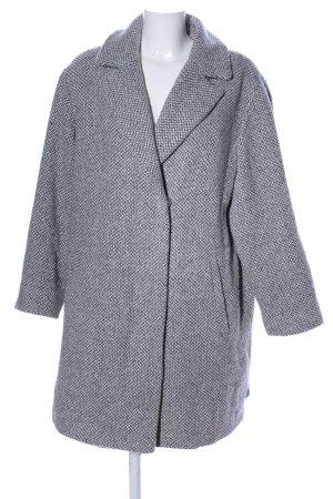 Gelco Cappotto in lana grigio chiaro puntinato stile professionale