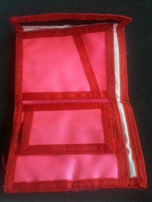 Geldbeutel neon Pink rot