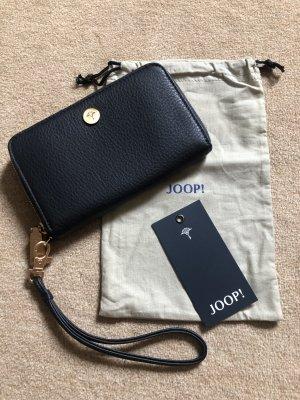 Joop! Wallet dark blue leather