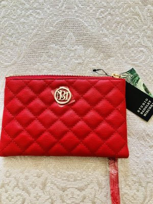 Badgley Mischka Wallet gold-colored-red