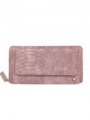 Portafogli rosa pallido-rosa antico Poliuretano