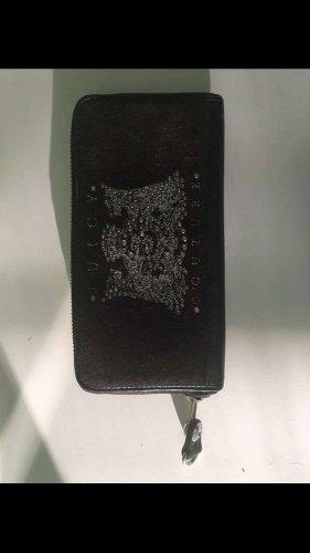 Juicy Couture Cartera negro-color plata Cuero