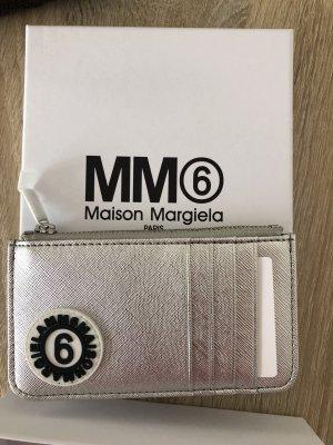 Maison Martin Margiela Cartera color plata-gris claro