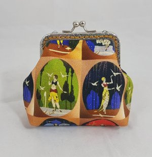 Geldbörse Orange Gatsby Portemonnaie