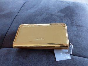 Geldbörse/ Portemonnaie von Deux Lux - metallic gold *neu*