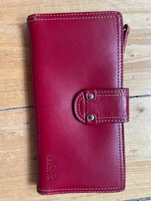 Kenneth Cole Portefeuille bordeau-rouge foncé cuir