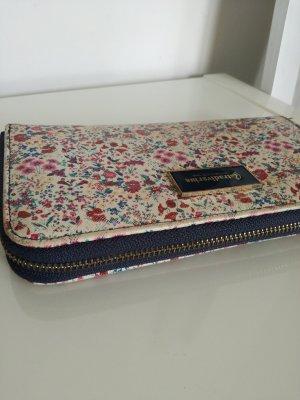 Geldbörse Stradivarius, groß, Geldtasche, Tasche, Blumenmuster, vintage look, elegant