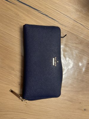 Kate Spade Wallet dark blue leather