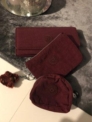 Kipling Wallet bordeaux-purple