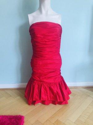 ❤️Gemeinsam Gutes tun: 1/3 Verkaufserlös gehen an die Kindernothilfe❤️ VICKY TIEL Fashion Icon Vintage Designerkleid rot