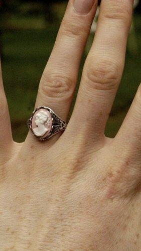 Gemme Modeschmuck Ring gr 16/54