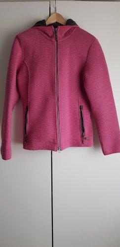 CMP Giacca di lana rosa-grigio Lana