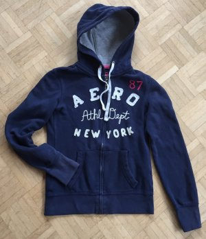 Aeropostale Veste sweat multicolore coton