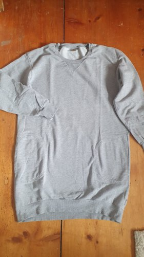 Carhartt Długi sweter jasnoszary Bawełna