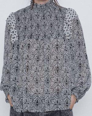 Zara Davantino (per blusa) bianco-nero