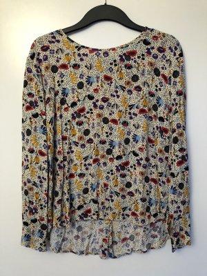 Gemusterte Bluse H&M Größe M