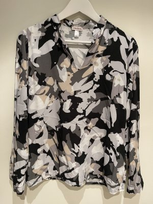 Gemusterte Bluse von Alba Moda | Größe 38 | wie neu