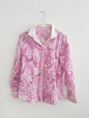 Basler Long Sleeve Blouse multicolored cotton
