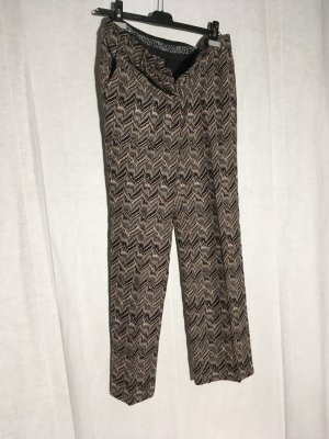 Missoni Pleated Trousers gold-colored-black wool