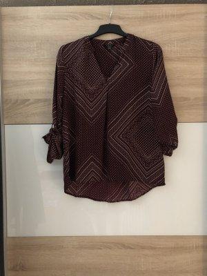Gemusterte Schlupf-Bluse