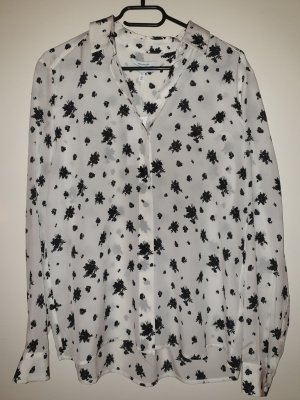 & other stories Blouse topje wit-zwart