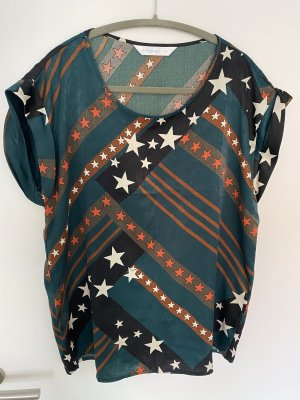 Anonyme Designers Short Sleeved Blouse multicolored