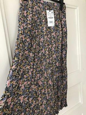 Zara Pleated Skirt multicolored