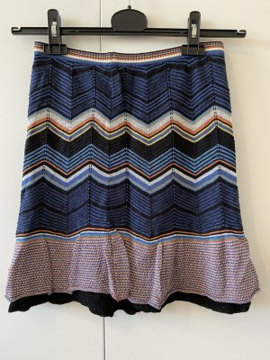 Missoni Falda de lana multicolor