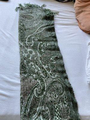 Esprit Écharpe en tricot vert forêt-blanc